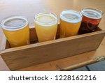 craft beer varietal tasting... | Shutterstock . vector #1228162216