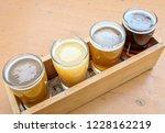 craft beer varietal tasting... | Shutterstock . vector #1228162219
