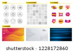 seamless pattern. shopping sale ... | Shutterstock .eps vector #1228172860