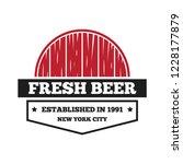 vintage logo  badge  emblem or... | Shutterstock .eps vector #1228177879