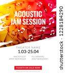 modern acoustic classical music ... | Shutterstock .eps vector #1228184290