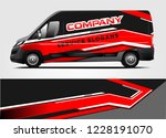van livery design. company van... | Shutterstock .eps vector #1228191070