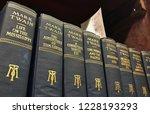 stockbridge  ny  usa  11 12 18  ... | Shutterstock . vector #1228193293
