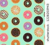 vector seamless pattern for... | Shutterstock .eps vector #1228203943