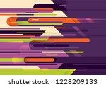 wallpaper design in abstract... | Shutterstock .eps vector #1228209133
