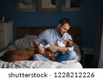 portrait of middle age... | Shutterstock . vector #1228212226