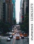 street of manhattan in new york....   Shutterstock . vector #1228212373