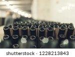 bottles of wine in the wine...   Shutterstock . vector #1228213843