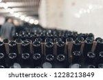 bottles of wine in the wine...   Shutterstock . vector #1228213849