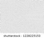 radial dots background. black... | Shutterstock .eps vector #1228225153
