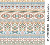 mexican american indian pattern ... | Shutterstock .eps vector #1228231330
