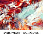 bright artistic splashes.... | Shutterstock . vector #1228237933