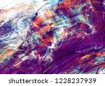 bright artistic splashes.... | Shutterstock . vector #1228237939