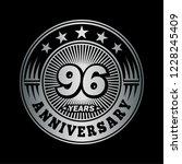 96 years anniversary.... | Shutterstock .eps vector #1228245409