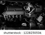 car engine  motor  concept... | Shutterstock . vector #1228250536