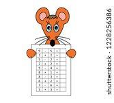 worksheet. mathematical puzzle...   Shutterstock .eps vector #1228256386
