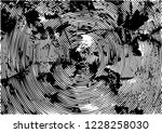 distressed background in black... | Shutterstock .eps vector #1228258030