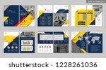 brochure creative design....   Shutterstock .eps vector #1228261036