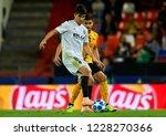 carlos soler of valencia and... | Shutterstock . vector #1228270366