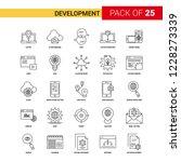 development black line icon  ...   Shutterstock .eps vector #1228273339