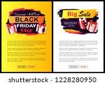 black friday sale off promo... | Shutterstock .eps vector #1228280950