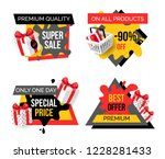 exclusive products  hot sale... | Shutterstock .eps vector #1228281433