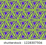 traditional geometric seamless... | Shutterstock .eps vector #1228307506