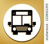 bus sign illustration. vector.... | Shutterstock .eps vector #1228321393