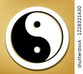 ying yang symbol of harmony and ... | Shutterstock .eps vector #1228321630