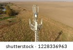 cellular tower. equipment for... | Shutterstock . vector #1228336963