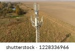 cellular tower. equipment for... | Shutterstock . vector #1228336966