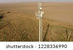 cellular tower. equipment for... | Shutterstock . vector #1228336990