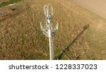 cellular tower. equipment for... | Shutterstock . vector #1228337023