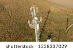 cellular tower. equipment for... | Shutterstock . vector #1228337029