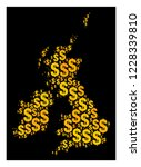 map of great britain and...   Shutterstock .eps vector #1228339810