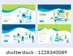 website and mobile website... | Shutterstock .eps vector #1228340089