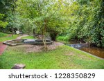 image of water pond at pong nam ... | Shutterstock . vector #1228350829