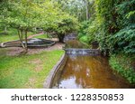 image of water pond at pong nam ... | Shutterstock . vector #1228350853