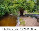 image of water pond at pong nam ... | Shutterstock . vector #1228350886