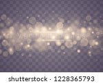 light abstract glowing bokeh... | Shutterstock .eps vector #1228365793