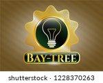 golden emblem or badge with... | Shutterstock .eps vector #1228370263