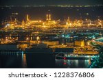minato mirai of night view ...   Shutterstock . vector #1228376806