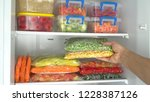 Deep Freezer. Packages And...