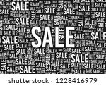 sale poster background template ... | Shutterstock .eps vector #1228416979