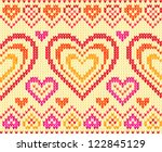 Valentines Day Colorful Knitted ...