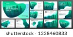 powerpoint presentation layout... | Shutterstock .eps vector #1228460833