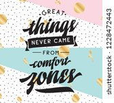 inspirational quote  motivation.... | Shutterstock .eps vector #1228472443