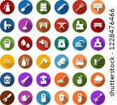 color back flat icon set   well ... | Shutterstock .eps vector #1228476466