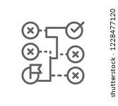 vector correct solution ... | Shutterstock .eps vector #1228477120