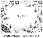 berry fruits  illustration...   Shutterstock .eps vector #1228490416